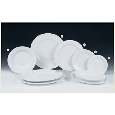 Set 6 Vassoio ovale in porcellana 28 cm forma Alba Castle (cod.F 1409)Table Top