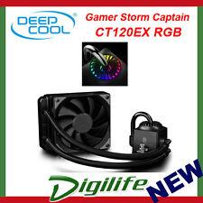 DeepCool Gamer Storm Captain 120EX RGB AIO Liquid CPU Water Cooler CT120RGB