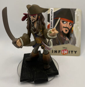 Disney Infinity Captain Jack Sparrow Character Figure Pirates With Card