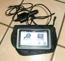 GARMIN NUVI 1350 AUTO GPS UNIT 4.25 INCH SCREEN WORKS GOOD CONDITION WITH CASE