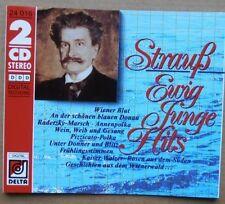 Strauss, Johann (Sohn)/Joseph/Vater Ewig junge Hits (Delta) [2 CD]