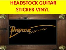 IBANEZ UNIVERSE GOLD SEVEN STRINGS STICKER VINYL VISIT OUR STORE WITH MORE MODEL