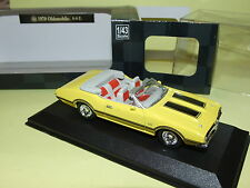 OLDSMOBILE 4-4-2 1970 Jaune  NEW RAY