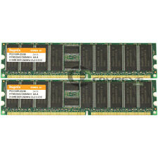 Hynix 1GB (2x 512MB) PC2100 DDR ECC Reg 184-Pin DIMM Memory HYMD264G726B4M-H AA