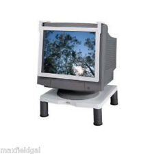 New Fellowes Standard adjustable Monitor Riser, CRC91712, hold 60 lbs w/warranty