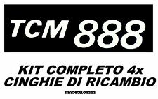 ★KIT CINGHIE 1+3 ANELLI PER PROIETTORE SUPER 8 mm TCM 888 TCM MACH ★