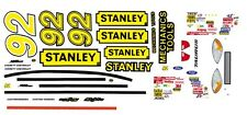 #92 Hut STricklin Stanley Tools 1/64th HO Scale Slot Car Waterslide Decals