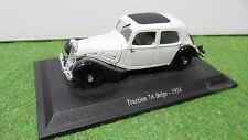 CITROËN TRACTION 7A BELGE 1934 gris 1/43 ATLAS 70 voiture miniature d collection