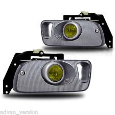 Fog Light Kit w/ Wiring Switch & Bulbs 1992 1993 1994 1995 Honda Civic - Yellow