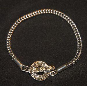 SILPADA - B1704 - Sterling Silver Logo Bracelet - RET