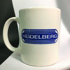 VTG Heidelberg Heidelberger Druckmaschinen Logo Coffee Tea Cup Mug German Eng Co