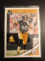 2018 Panini Donruss # 247 T.J. WATT MINT