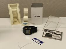 Casio 509 JP-100W 1BV Pulsecheck Digital Watch +Original box, cover, tag, manual