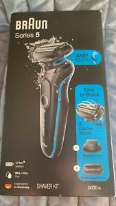 Braun Series 5 5035S Men's Rechargeable Wet and Dry Electric Foil Shaver