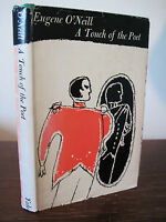 A Touch of the Poet Eugene O'Neill Drama 1st Edition First Printing Play