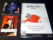 Taiwan Limited Blu-ray BD/CD + Gifts NEW! Madonna 2017 Rebel Heart Tour Live