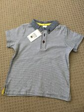 NEW Target Boys Toddler Polo Striped T Shirt. Short Sleeve.  Size 2. Kids BNWT
