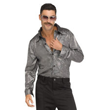 d0684037 Polyester Disco Tops & Shirts Costumes for Men for sale | eBay