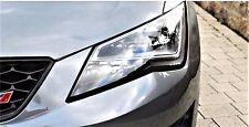BLACK Devileyes Headlights Stripes Mod SEAT Sport Ibiza Leon Altea Cupra Tdi St