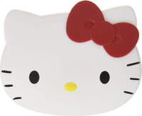 New JAPAN Sanrio Hello Kitty Mirror Hair Brush Comb Set Red Cat Compact & Travel