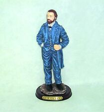 UNION GENERAL U.S. ULYSSES S GRANT STANDING FIGURE ON WOODEN BASE BRASS PLAQUE