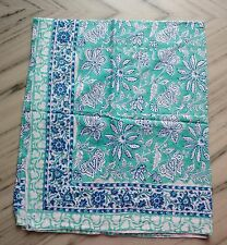 Indian Hand Block Print Pario Cotton Cover up Sarong /Stole Bikini 180x110 cm A+
