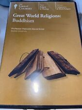 Great World Religions: Buddhism by Malcolm David Eckel Dvd