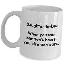 Cute Wedding Gift For Daughter In Law Her Best Coffee Mug Tea Cup From Parent US