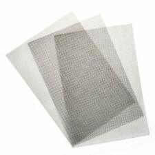 TIMESETL 3pcs Stainless Steel Woven Wire Mesh Rodent Proof Metal Mesh Sheet 1mm