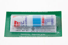 Thai Herbal Inhaler Nasal POY SIAN MARK II (Blue) Oil Cold Menthol Eucalyptus