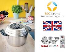 ~ Tefal OVATION best pots lids set 6 pcs from Jamie Oliver stainless steel  !