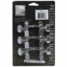 PING STEEL STRING-STANDARD CHROME PRECISION TUNING MACHINES w/LYRE STYLE PLATES
