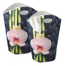 2x WENKO Wäschesammler SPA 65 L Wäschekorb Wäschebox Wäsche Korb Wäschesortierer