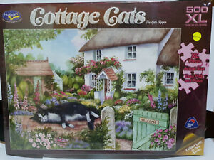 Holdsons 77198 Cottage Cats The Gate Keeper by Debbie Cook 500pc jigsaw