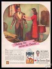 "1945 CAMEL The "" T-ZONE "" Cigarette Original Advert Print - Z1"