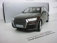 ORIGINALE AUDI Modellino Auto, Q7, 1:18, ARGUS Marrone, NUOVO / conf. orig.
