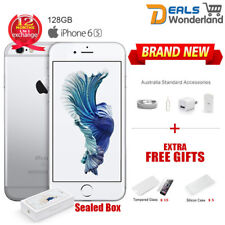 New Sealed Box Apple iPhone 6S 128GB Mobile Phone Silver Unlocked