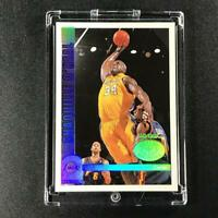 SHAQUILLE O'NEAL SHAQ 1999 SKYBOX NBA HOOPS #4 DRAFT DAY DOMINANCE HOLO INSERT