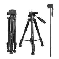 ZOMEI Professional Portable Travel Tripod Monopod  for Canon Nikon Sony Camera