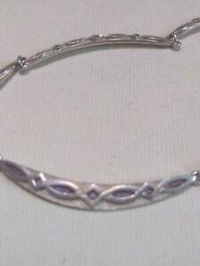 Sheila Fleet Silver Enamel Sweetheart Necklace