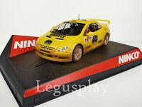 "SCX Scalextric Slot Ninco 50367 Peugeot 307 WRC ""Pirelli"" Efecto Barro Gronholm"