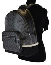 Coach Mens Womens West Shear Genuine Leather Backpack $650 MSRP New With Tags