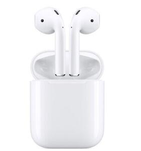 ORIGINAL APPLE AIRPODS 2 GENERATION Mit Charging Case Bluetooth Headphones White