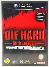 Die Hard Stirb Langsam Vendetta | Nintendo GameCube NGC | komplett in OVP | gut