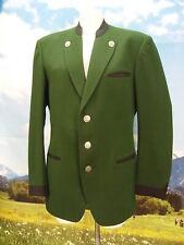 Herrliche, lange Lodenjacke in grün, Jacke Trachtenjacke Janker Gr.48