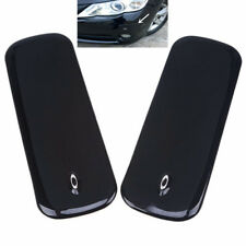 2x Universal Black Car Bumper ProtectorStrip Front Rear Protector Guard Sticker