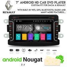 "7"" Android HD Navigation Bluetooth DVD USB SD Car Stereo For Renault & Dacia"