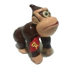 "Glow In The Dark Donkey Kong Glass Smoking Pipe! 5"" Made USA. Mario Fan Art"