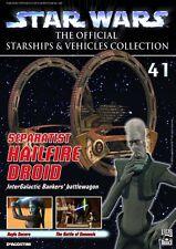 Star Wars Vehicles Collectors Mag #41 Hailfire Droid