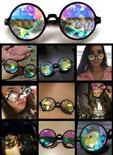 Round Kaleidoscope Sunglasses Festival Tomorrowland Eyewear New Black Frame 2017